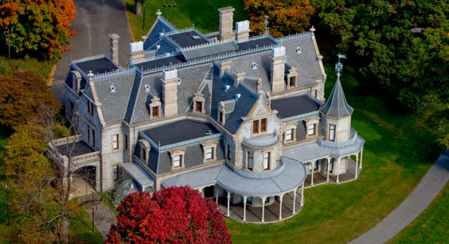 See the unparalleled architecture of the Lockwood-Mathews Mansion Museum