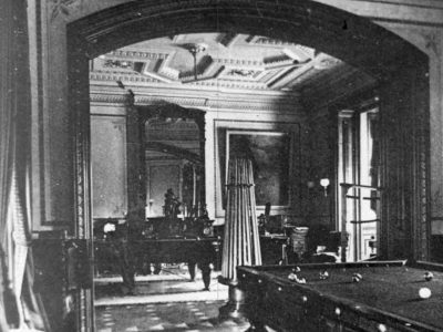 Historic Lockwood-Mathews Mansion Museum Billiards Room