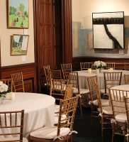The Billiards Room Set Up for a Private Event  the Lockwood Mathews Mansion Museum