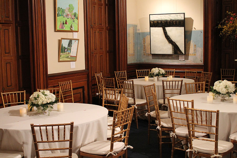 Host your private event at the Lockwood Mathews Mansion Museum