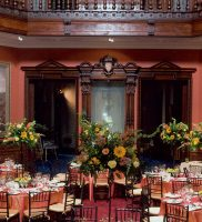 A Private Event in the Rotunda at the Lockwood Mathews Mansion Museum Courtesy of Tom Horowitz