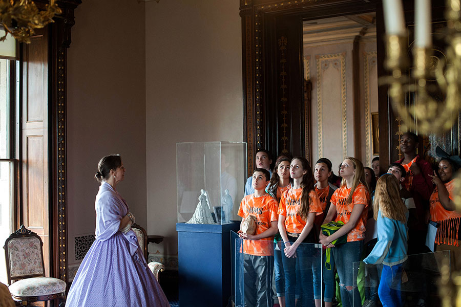 New York City School Tours at the Lockwood Mathews Mansion Museum