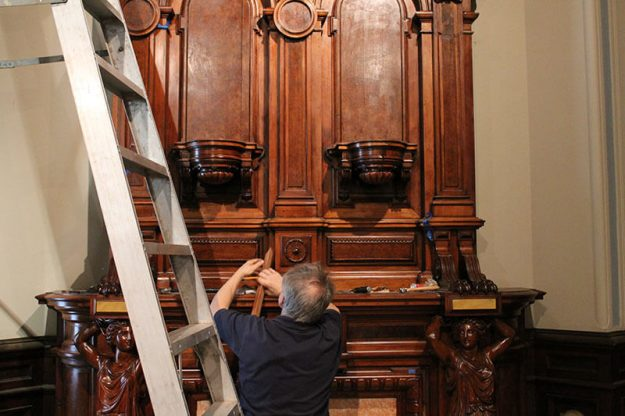 Lockwood-Mathews Mansion Museum Restoration