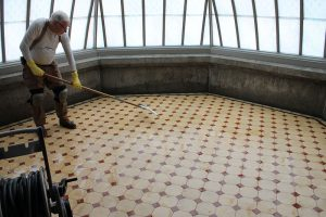 Lockwood-Mathews Mansion Museum Restoration Cleaning Conservatory