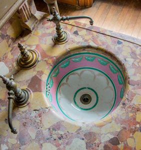 Sinks in the Master Bath Courtesy of Sarah Grote Photography