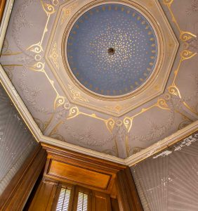 Oratory Ceiling Courtesy of Sarah Grote Photography