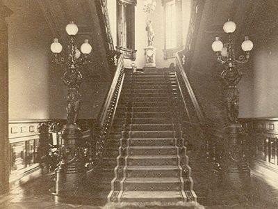 Lockwood-Mathews Mansion Museum Rotunda and Grand Staircase