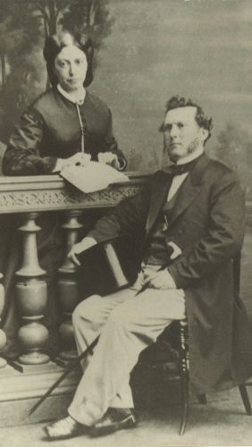 LeGrand Lockwood Sr. and Ann Louisa Lockwood donated bibles and peacoats to Company F of the 17th Connecticut Infantry, nicknamed 'Lockwood's Guards,' during the Civil War.