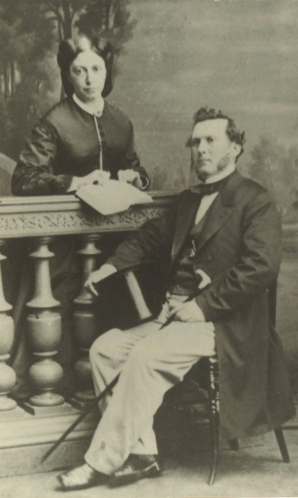LeGrand Lockwood Sr. and Ann Louisa Lockwood