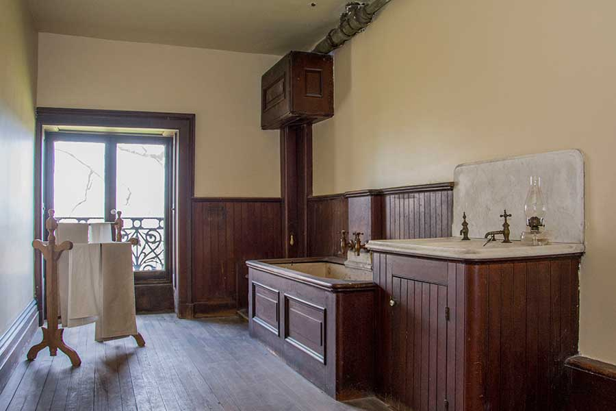 Servants' Quarters Lockwood-Mathews Mansion Museum