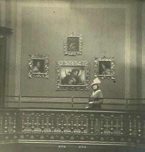 Helen Churchill Candee in the Rotunda
