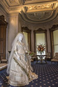 1870s Wedding Dress, courtesy of Sarah Grote Photography
