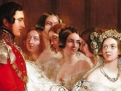 George Hayter, royalcollection.org.uk/collection/407165/the-marriage-of-queen-victoria-10-february-1840. Royal Collection Trust/© Her Majesty Queen Elizabeth II 2017