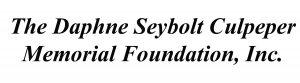 The Daphne Seybolt Culpeper Memorial Foundation, Inc.