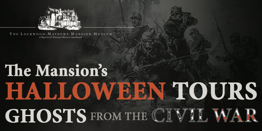 featuring a troupe of living history volunteers led by halloween co chairs midge lopat and rose carroll the ghosts from the civil war tours will focus on